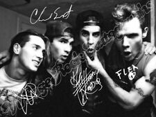 Red Hot Chili Peppers-print signed photo-Photo with Printed Autograph