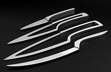 5cr17mov Deglon Meeting Design knife 4PC SET- All stainless steel with base