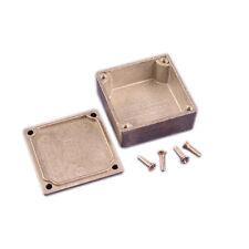 Carcasa De Aluminio eddystone 50 X 50 X 25 Mm Natural proyecto Funda Caja
