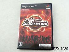 Dance Dance Revolution Supernova Playstation 2 Japanese Import DDR JP PS2 B