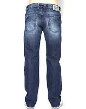 Homme Diesel Mennit 008B9 effet vieilli Regular Slim Coupe Droite Jeans Taille W29 L34