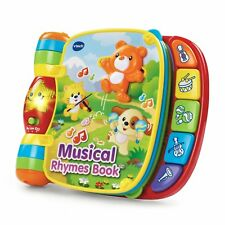 VTech Musical Rhymes Book For Baby - Educational Toy Interactive Kid's book New!