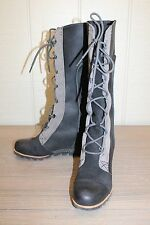Sorel Cate The Great Wedge Women's Black Boot - Size 7.5