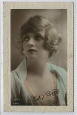 (w14a42-100) RP of Rotary S28-6, GLADYS COOPER 1918 Postally Used G-VG