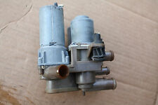 1992-99 MERCEDES W140 500SEL S500 HEATER DUAL VALVE PUMP ASSEMBLY SOLENOID DUO