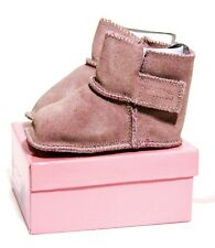 Willits Infant/Toddler Barbi Pink Suede Bootie Size 4M / 9 - 12 months