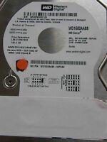 160 GB Western Digital WD1600AABB-56PUA0 / HHNNNTJAHN / 2060-701494-001 REV A