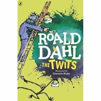 The Twits by Roald Dahl Story Book - Quentin Blake , Paperback, NEW UK Fre P&P