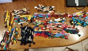 J&P Coats Embroidery Floss Lot 190+ Assorted Colors