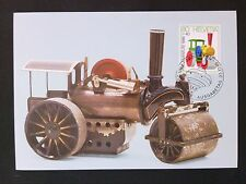 SCHWEIZ MK SPIELZEUG DAMPFWALZE MAXIMUMKARTE CARTE MAXIMUM CARD MC CM c8011