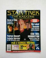 May 1999 Star Trek The Magazine- PREMIERE ISSUE #1 w Picard Cover