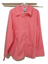 George Woman Plus Size 22/24W Peach Blouse