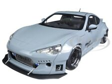 ROCKET BUNNY TOYOTA 86 CONCRETE GREY WITH BLACK WHEELS 1/18 BY AUTOART 78759