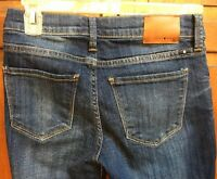 Lucky Brand Women 00 / 24 Jeans Brooke Straight Fit Low Rise Blue Medium Wash