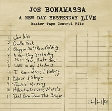 JOE BONAMASSA - A NEW DAY YESTERDAY-LIVE  CD NEU