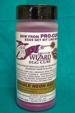 New Pro-Cure Wizard Salmon Egg Cure 12oz Neon Red WZ-012