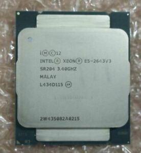 Intel Xeon Six-Core E5-2643v3 3.40GHz 20MB SR204 LGA2011-3 Server CPU Processor