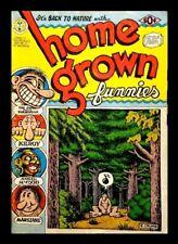 HOME GROWN FUNNIES, 8th PRINTING, ROBERT CRUMB, 1971, KITCHEN SINK, UNDERGROUND