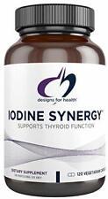 Designs for Health Iodine with Selenium - Iodine Synergy, 10mg Iodine, 120 Caps