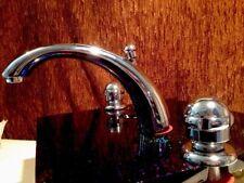 Kludi 3 Loch Luxus Armatur Waschbecken Waschtisch Wasserhahn Mit Ablauf Garnitur
