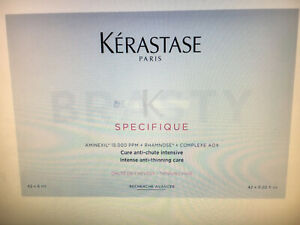 KERASTASE SPECIFIQUE HAARWASSER GEGEN HAARAUSFALL CURE ANTI CHUTE  42 X 6 ml