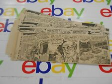 The Oregonian- August, 1961- Comic St 00004000 rips- Clipped- Kerry Drake- Lot of 26