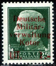 Occupazioni Tedesca Cattaro 1944 n. 2 * (m1662)
