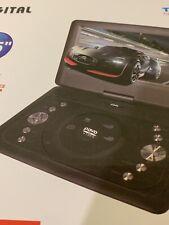 "Gold Dugital 11.5"" Portable In - Car DVD Player - Black"