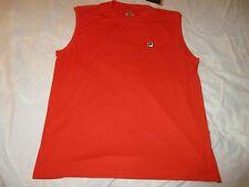 Fila Men'S Athlete Shirt Orange Xl Rayosan Uv Protection Close To You New W/Tags