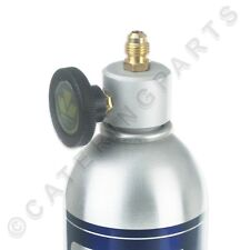 "R600a Bottle Adaptor Valve Can Tap Isobutane Refrigerant Gas Canisters 1/4"" Out"