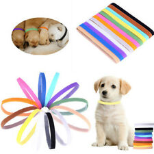 12 PC Whelp ID Collars - Whelping Puppy & Kitten ID Velcro Collar Bands Breeders