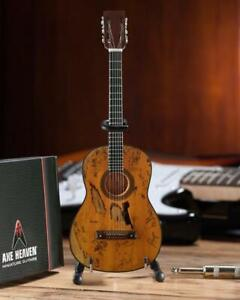 "AXE HEAVEN Willie Nelson ""Trigger"" Acoustic MINIATURE Guitar Display Gift WN-302"