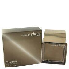Euphoria Intense by Calvin Klein Eau De Toilette Spray 3.4 oz Perfume For Men