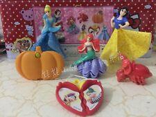 Kinder Surprise Disney Princess Complete Set 6 BPZ Girls Toys INDIA 2017 RARE