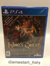 KING'S QUEST THE COMPLETE COLLECTION - SONY PS4 - NUOVO SIGILLATO NEW SEALED