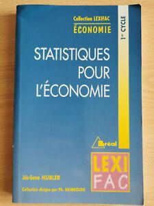 Statistiques pour l'économie - 1er cycle