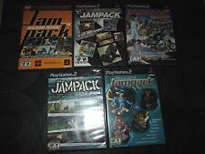 PS2 - Playstation 2 - Lot Of 5 JAMPAK DEMO Games