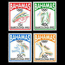 Bahamas 1992 - Olympic Games - Barcelona, Spain - Sc 755/8 MNH