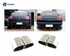 Exhaust Tip Tail Pipe Muffler For Porsche Panamera 4S/Turbo 2014 2015 2016