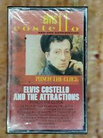 Elvis Costello And The Attractions Punch The Clock New Sealed Cassette