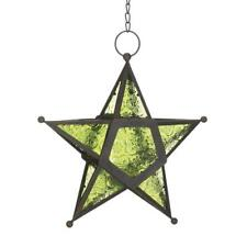 Green Glass Star Lantern   10017756  SMC