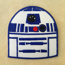 R2D2 STARWARS STAR WARS EMBROIDERY IRON ON PATCH BADGE
