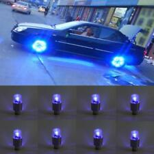 8Pcs LED Car Wheel Tyre Tire Shock Sense Valve Stem Cap Light Lamp Bulb RS#27