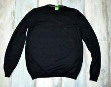 - HUGO BOSS BLACK JUMPER CREW NECK virgin wool size S small