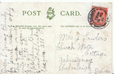 Genealogy Postcard - Sanders - Ashreigney - Chulmleigh - Devon - 3274A