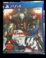 PS4 Devil May Cry 4 Special Edition New Sealed - Ships from Europe / No Taxes
