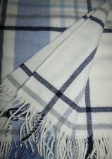 laine Couverture avec cachemire Part, Couvre-lit, canapé-couverture 135x180 cm