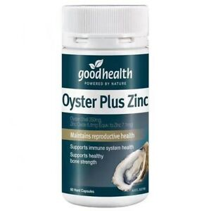 Goodhealth-Oyster Plus Zinc 60 Capsules