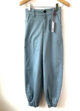 Ladies Urban Outfitters BDG Light Blue Cargo Pants Size S NEW