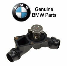 For BMW E39 E46 E60 E83 Thermostat w/ Housing & Gasket 97 degree C Genuine